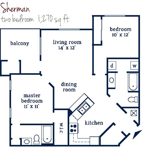 Sherman Floor Plan 4