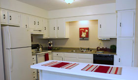 Kitchen of Apartments in Kansas City