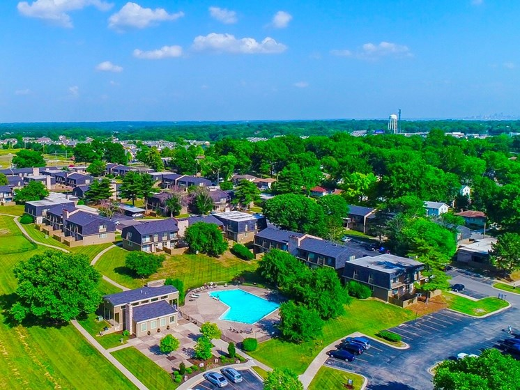 best apartment homes at The Oaks at Prairie View Apartments in North Kansas City, MO