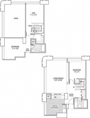 2 Bed 2 Bath - Den - Bi-Level