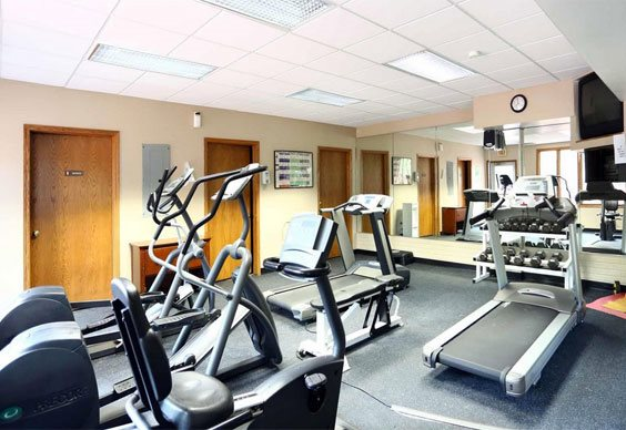 Fitness Center at Grays Lake Apartments in Des Moines, IA