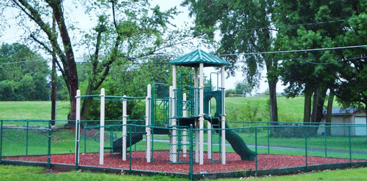 Playground at Grays Lake Apartments in Des Moines, IA