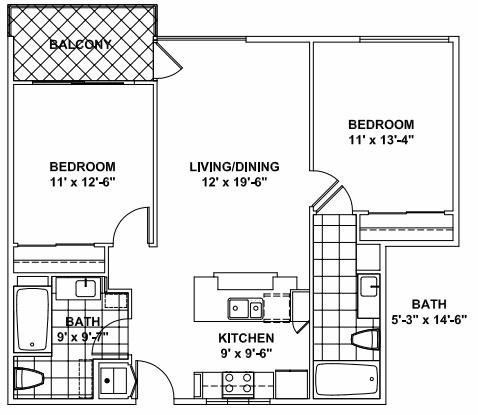 Floor Plan A Sim Floor Plan 1