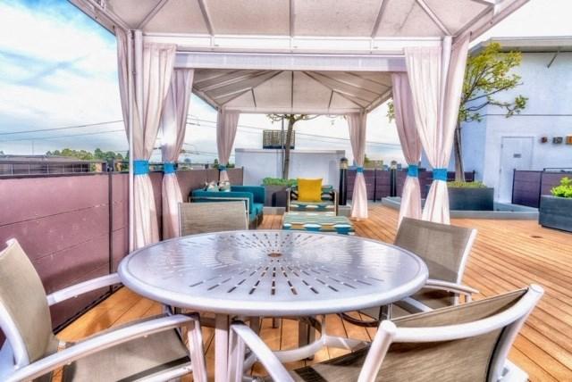Rooftop cabanas