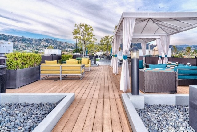 rooftop seating areas