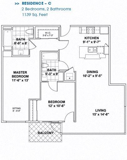 Floor Plan C Floor Plan 4