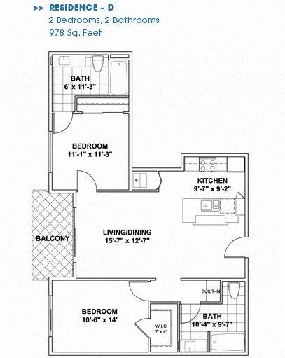 Floor Plan D Floor Plan 5