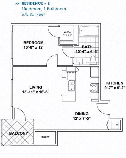 Floor Plan E Floor Plan 6
