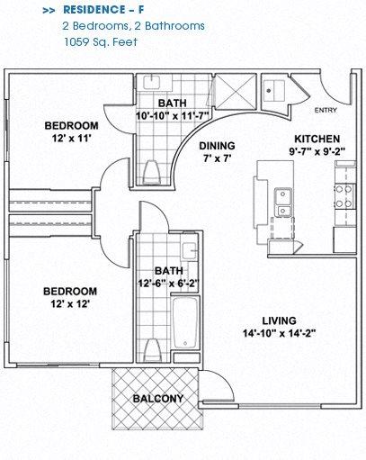 Floor Plan F Floor Plan 7