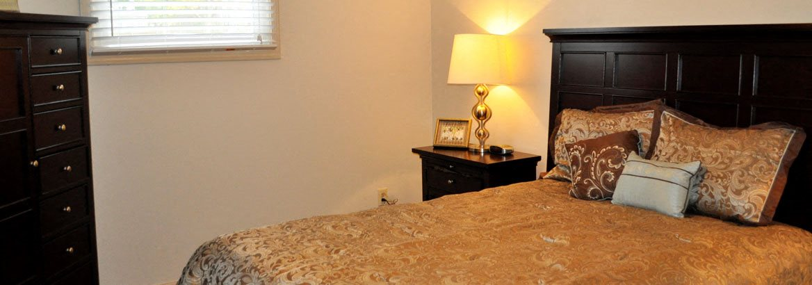 Bedroom at Arbors at Eastland Apartments