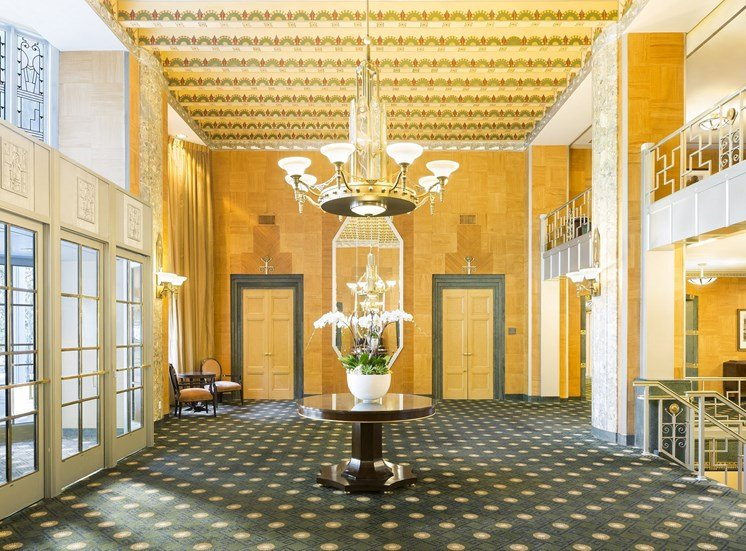Kennedy Warren grand lobby