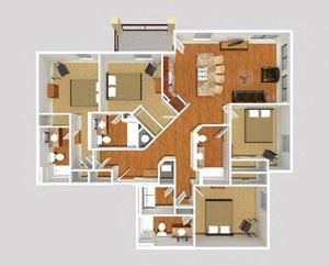 4 Bedroom Corner
