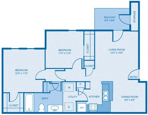 The Brunello Floor Plan 4