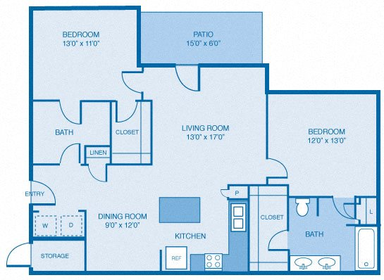 The Sassicaia Floor Plan 5