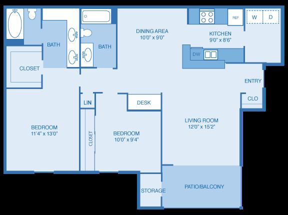 B3 Floor Plan 9