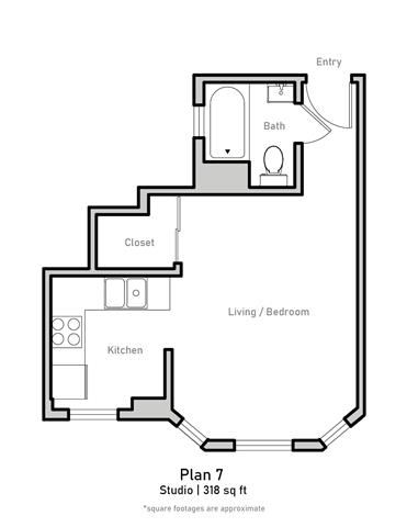 Studio - Plan 7