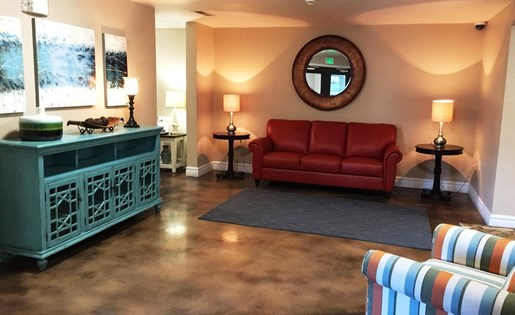 Clubhouse Waiting Area