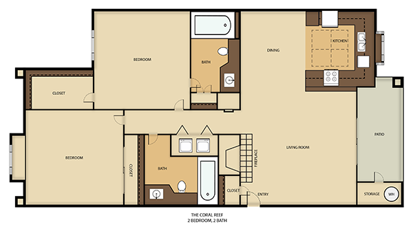 Coral Reef Floor Plan 2