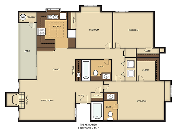 Key Largo Floor Plan 3