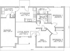 2 Bedroom Unit w/Den