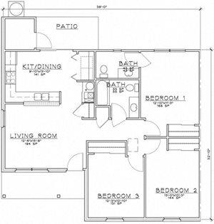 2 Bedroom Unit Ranch