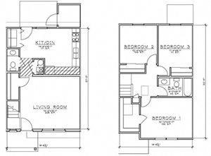 3 Bedroom TH