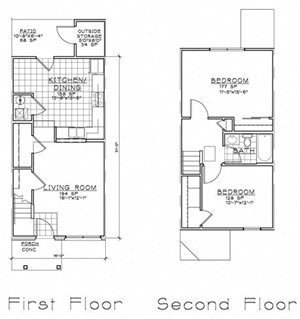 2 Bedroom TH