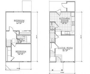 2 Bedroom TH Unit