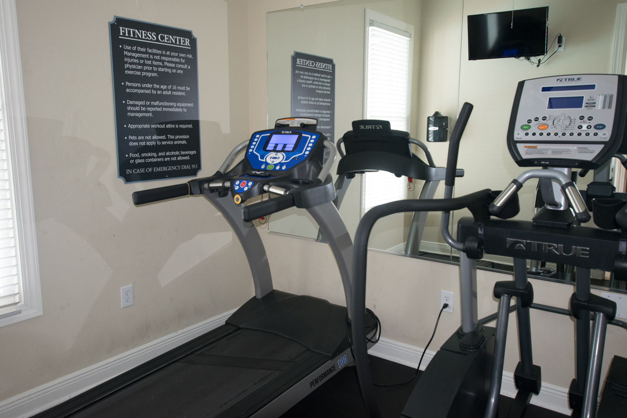 Fitness Center at Highlands of Grand Pointe Apartments in Lafayette, LA