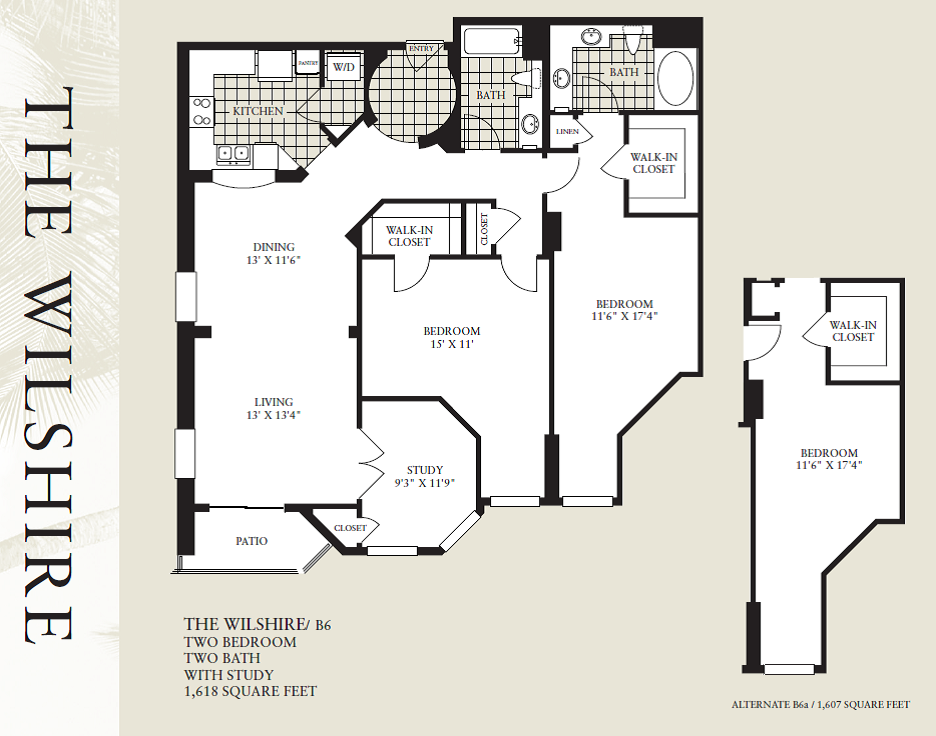 Wilshire-1607 Floor Plan 14