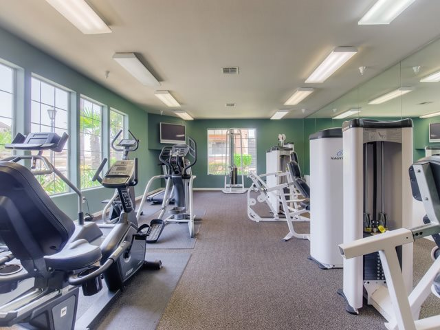 Health and Fitness Center at The Hills at Quail Run Apartments, California, 92507