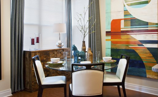 Luxury apartments and dining in Pittsburgh
