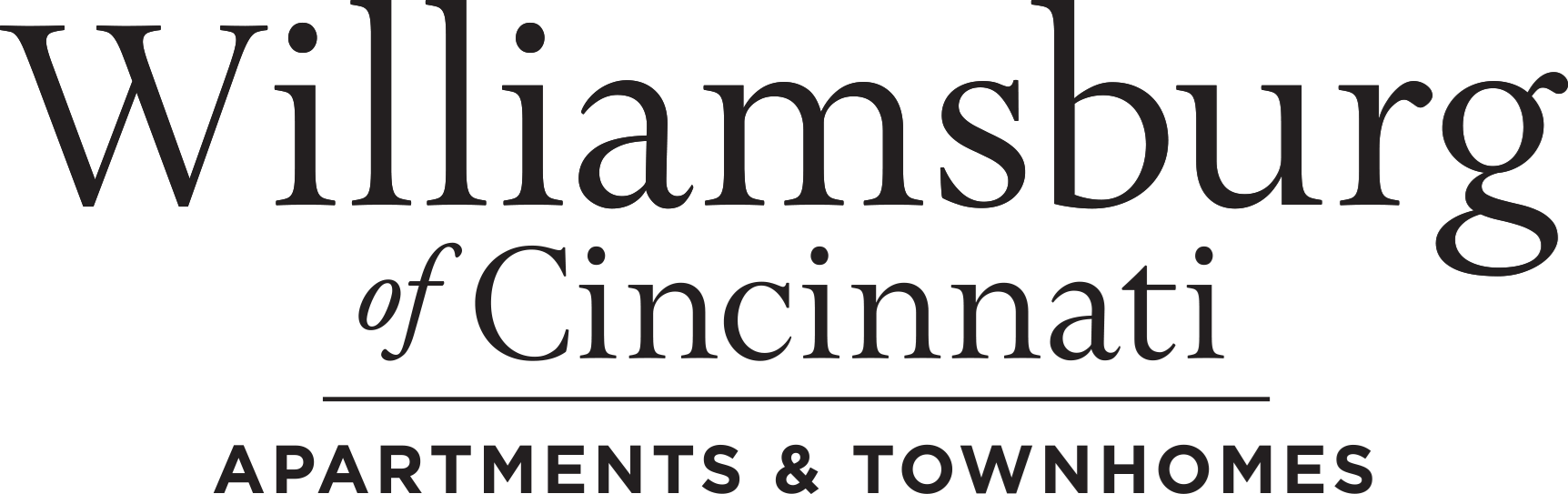 Williamsburg of Cincinnati Apartment Homes Logo