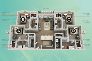 College Vue Floor Plan