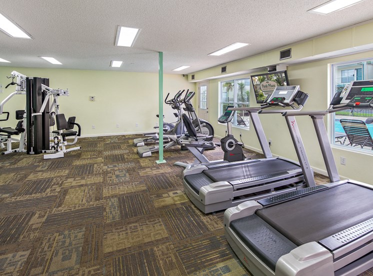 Fitness Room, Cardio and Weights