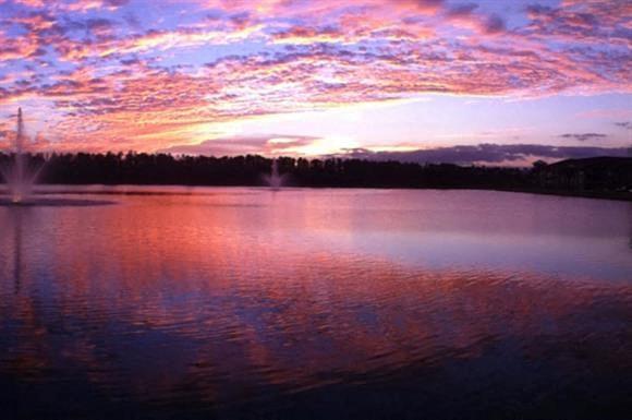 Lake Sylvia at Dusk