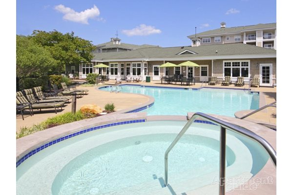 Apartment Community Pool with Wading Pool