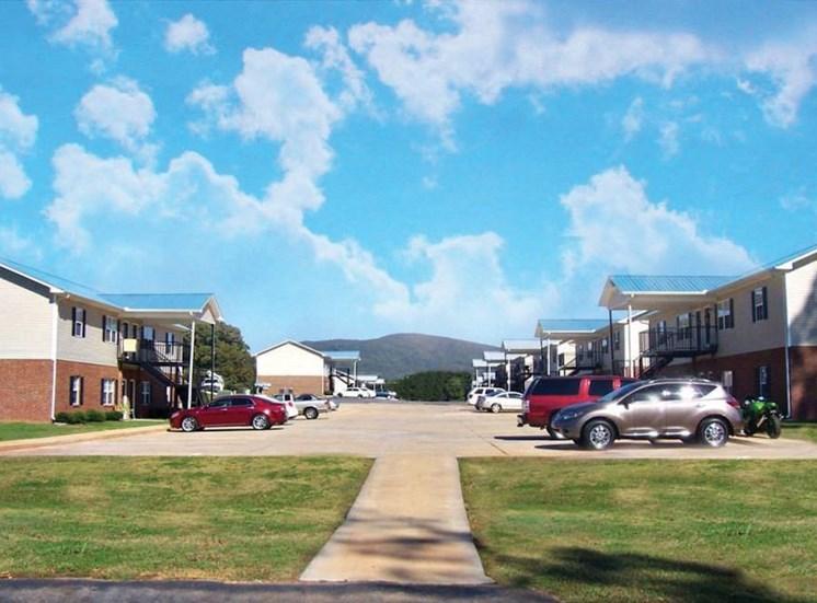 Mountain View Apartments Oxford AL Anniston, AL 36207 Big Sky Parking Lot