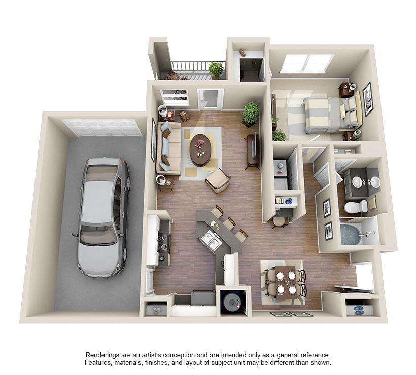 A1 (Avail w & w/out Garage)