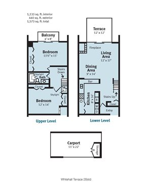 Whitehall Terrace Two Bedroom Standard