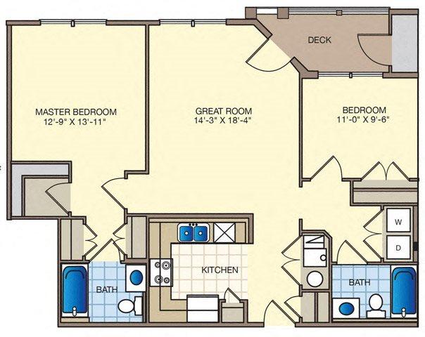 Hampton Floor Plan 2
