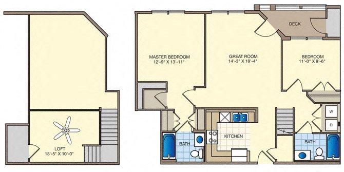 Remington Floor Plan 1