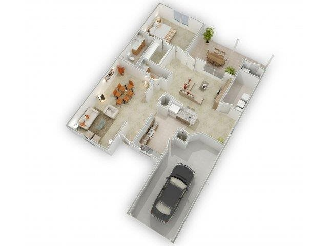 Golden Light Floorplan at Alta Terra Living