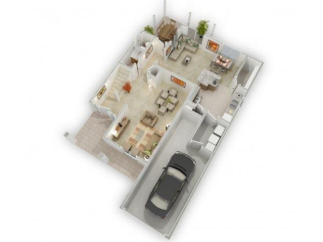 Moon Garden Floorplan at Alta Terra Living