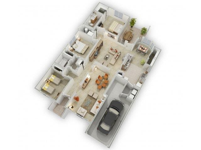 Silver Sky Floorplan at Alta Terra Living