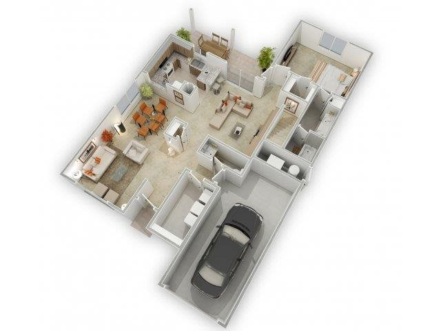 Spring Veil Floorplan at Alta Terra Living