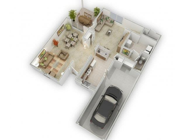 Summer Shadows Floorplan at Alta Terra Living