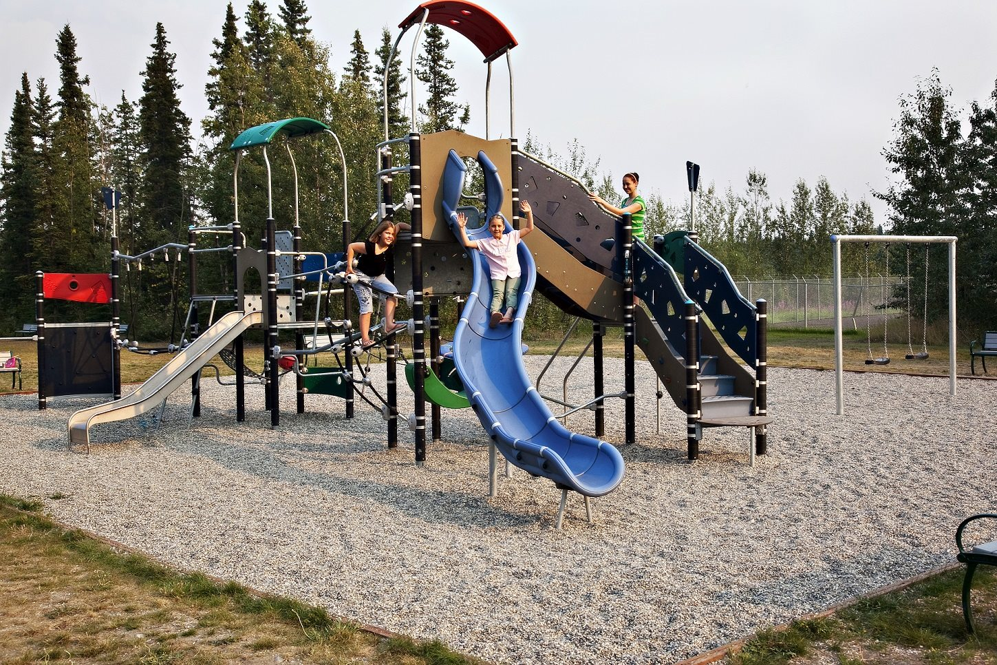 Playground at Birchwood Homes, Fairbanks, AK,99701