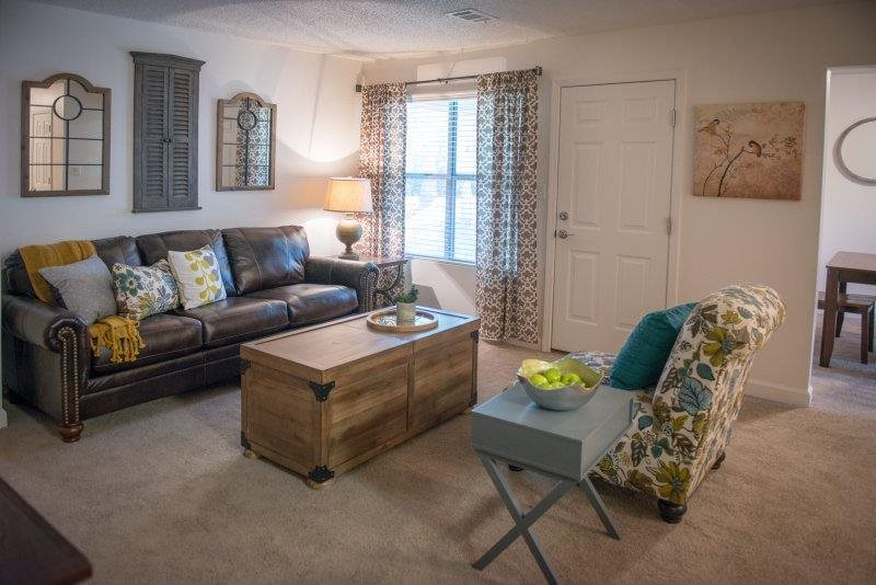 Beautiful Blinds at Three Waters Green apartments in Pensacola, FL  32506