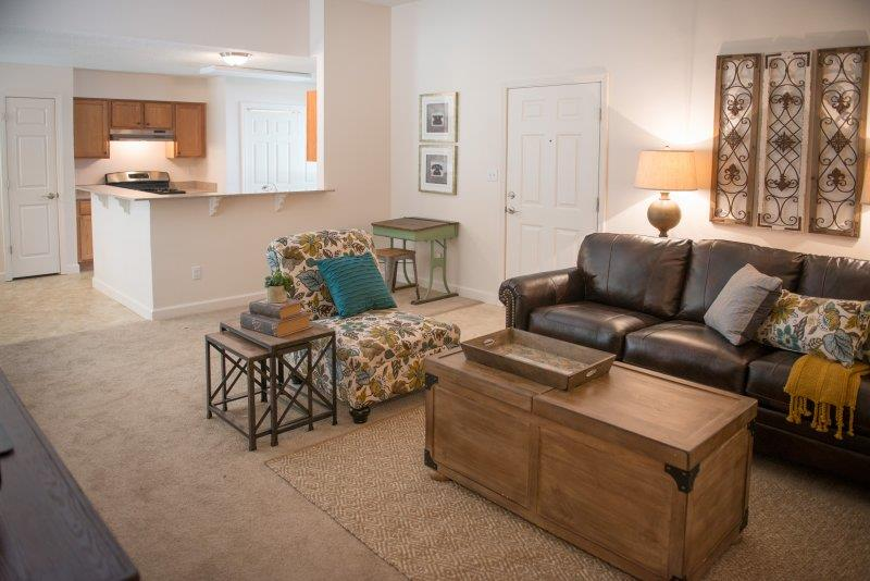 Upgraded Modern Lighting at Three Waters Green apartments in Pensacola, FL  32506